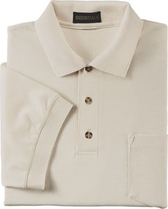 Ash City Vintage 225441 - Mens Pique Polo With Pocket