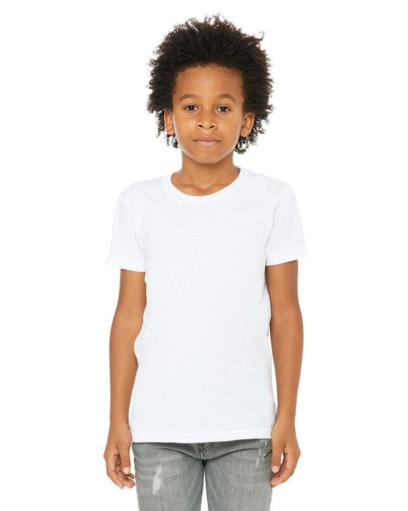 Bella+Canvas 3001Y - T-shirt à manches courtes en jersey pour les jeunes