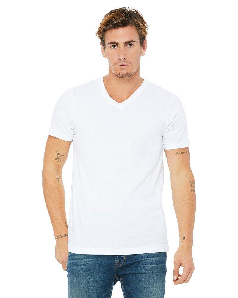 Bella+Canvas 3005 - T-shirt unisexe en jersey à manches courtes et col en V