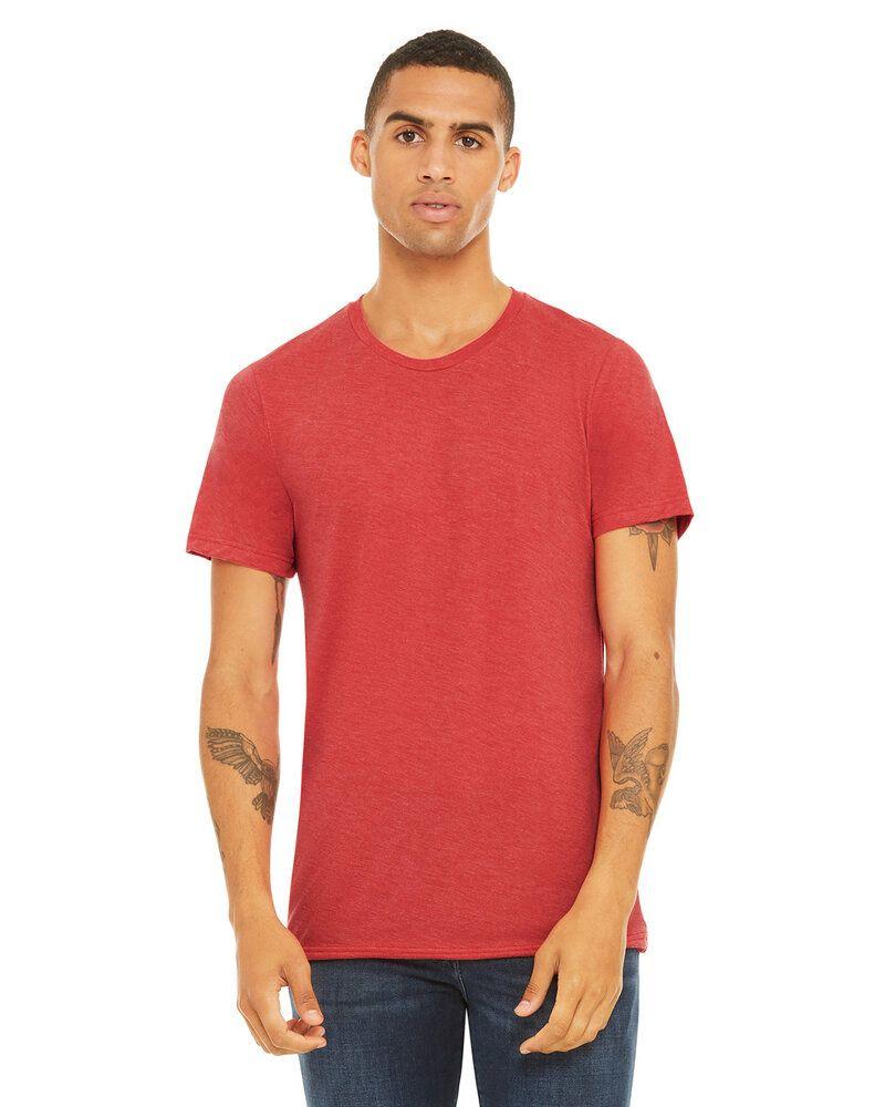 Bella+Canvas 3413C - T-shirt unisexe à manches courtes en triblend