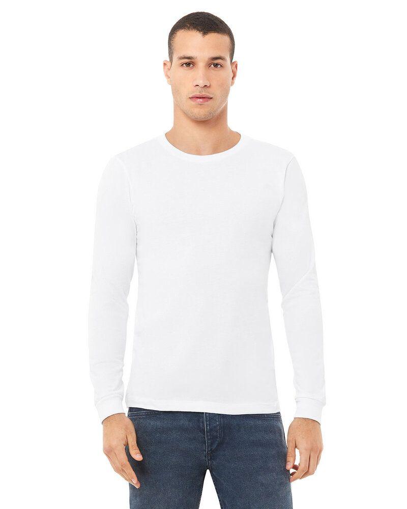 Bella+Canvas 3501 - t-shirt jersey à manches longues pour homme