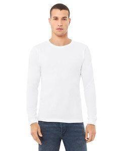 Bella+Canvas 3501 - T-shirt à manches longues en jersey pour hommes