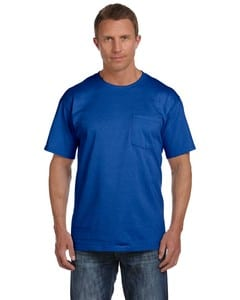 Fruit of the Loom 3931P - ® FL 5 oz., 100% Cotton HD Pocket TEE