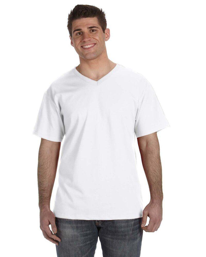 Fruit of the Loom 39VR - T-shirt col V pour hommes en gros