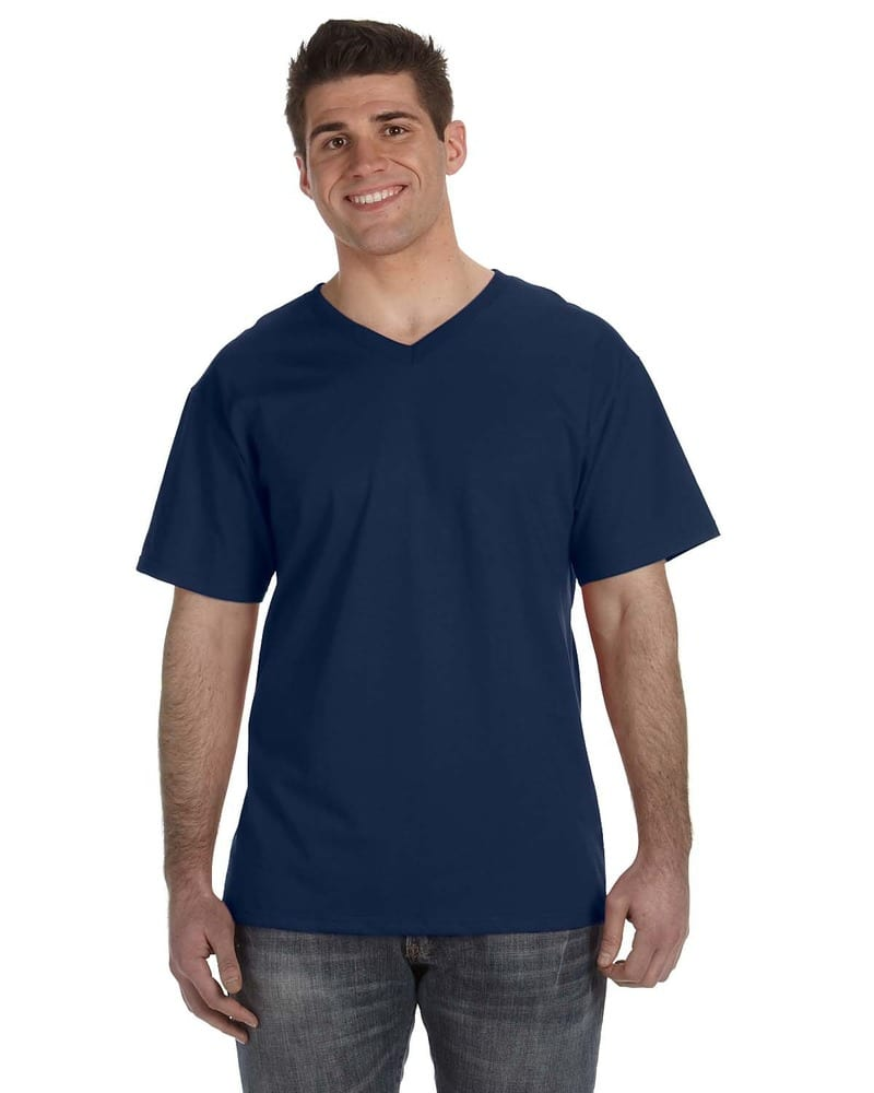 Fruit of the Loom 39VR - ® 8.3 oz., 100% Heavy Cotton HD® V-Neck T-Shirt
