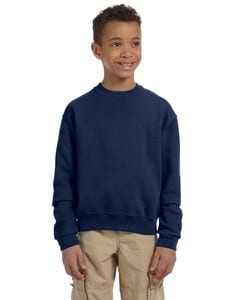 Jerzees 562B - Youth 8 oz., 50/50 NuBlend® Fleece Crew