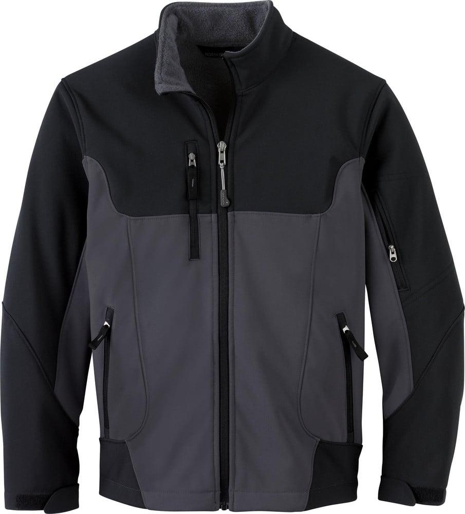 Ash City North End 68009 - CompassYouth Color-Block Soft Shell Jacket