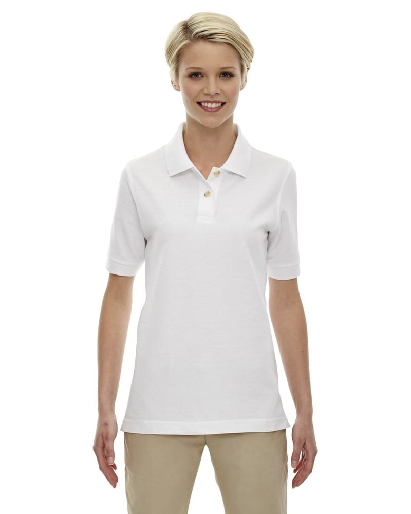 Ash City Extreme 75008 - Ladies' 100% Cotton Pique Polo