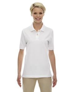 Ash City Extreme 75008 - Ladies 100% Cotton Pique Polo