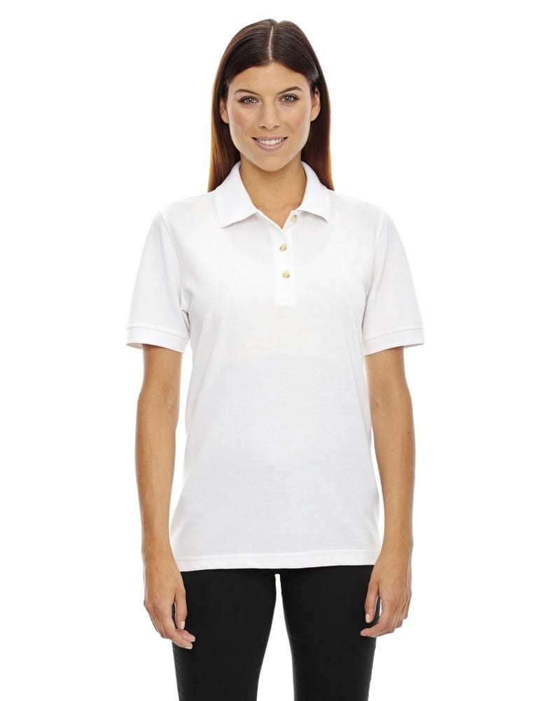 Ash City Extreme 75041 - Ladies' Short Sleeve Extreme Pique Polo With Teflon®