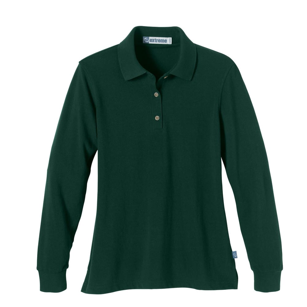 Ash City Extreme 75042 - Ladies' Long Sleeve Extreme Pique Polo With Teflon®