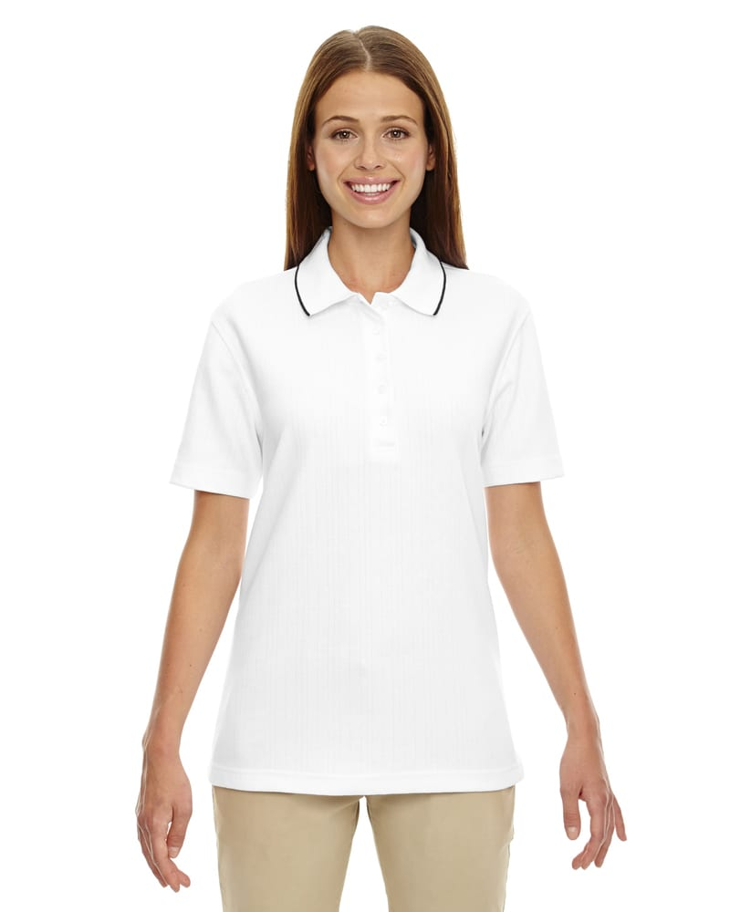 Ash City Extreme 75045 - Ladies' Edry™ Needle Out Interlock Polo