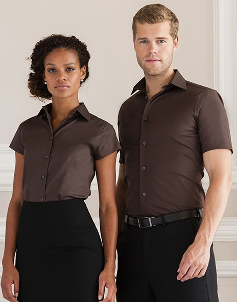 Russell Europe R-947M-0 - Tailored Shortsleeve Shirt