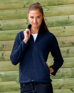 Russell Europe R-870F-0 - Ladies` Full Zip Fleece