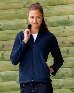 Russell R-870F-0 - Ladies` Full Zip Fleece