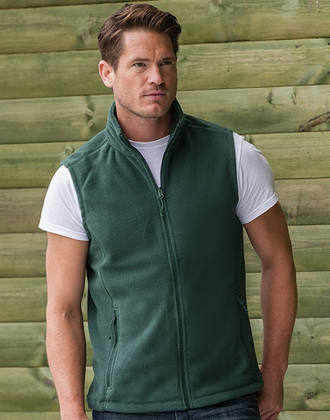 Russell Europe R-872M-0 - Mens Gilet Outdoor Fleece
