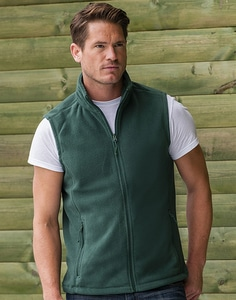 Russell Europe R-872M-0 - Mens' Gilet Outdoor Fleece