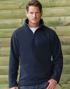 Russell Europe R-874M-0 - Adult's Quarter Zip Outdoor Fleece