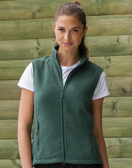 Russell Europe R-872F-0 - Ladies` Gilet Outdoor Fleece