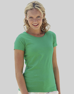 Fruit of the Loom 61-372-0 - T-Shirt Femme 100% Coton Lady-Fit