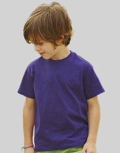 Fruit of the Loom 61-033-0 - T-shirt bambino Value Weight