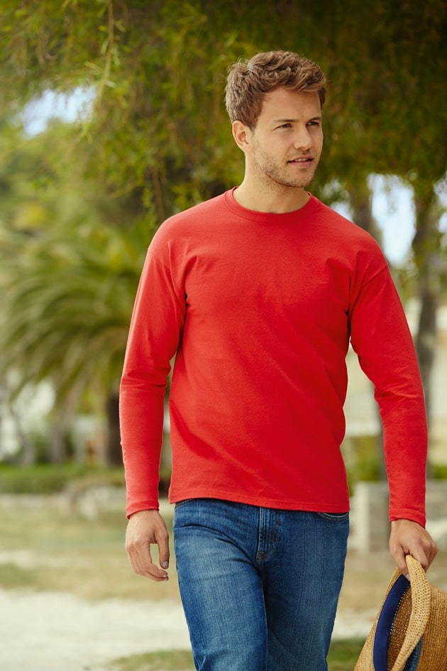 Fruit of the Loom 61-038-0 - Value Weight LS T