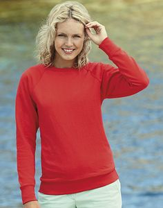 Fruit of the Loom 62-146-0 - Lady-Fit Lightweight Raglan Sweat