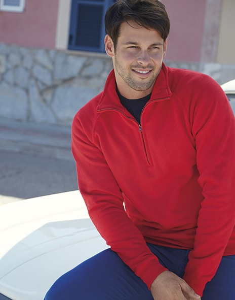Fruit of the Loom 62-032-0 - Zip-Neck Sweatshirt