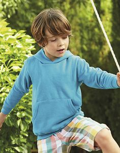 Fruit of the Loom 62-043-0 - Sweatshirt Criança Com Capuz