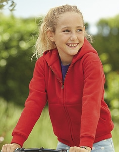 Fruit of the Loom 62-035-0 - Hoodie Sweater met Rits
