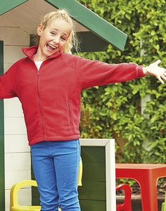 Fruit of the Loom 62-511-0 - Kids Fleece Jacke