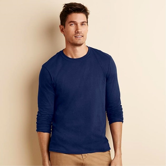 Gildan 64400 - T-Shirt Manches Longues Homme Softstyle®