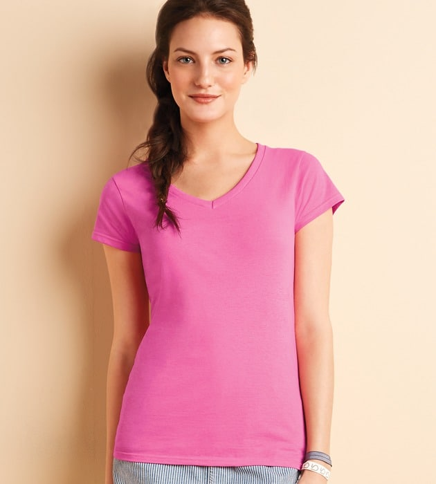 Gildan 64V00L - Ladies Softstyle® V-Neck T-Shirt
