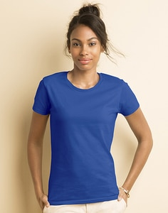 Gildan 4100L - Premium Cotton Dames RS T-shirt