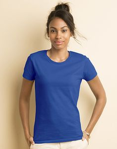 Gildan 4100L - Premium Cotton Ladies` RS T-Shirt