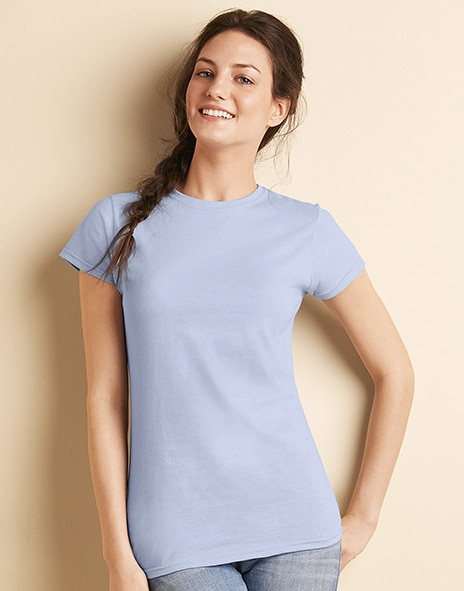 Gildan 64000L - Ladies Fitted Ring Spun T-Shirt