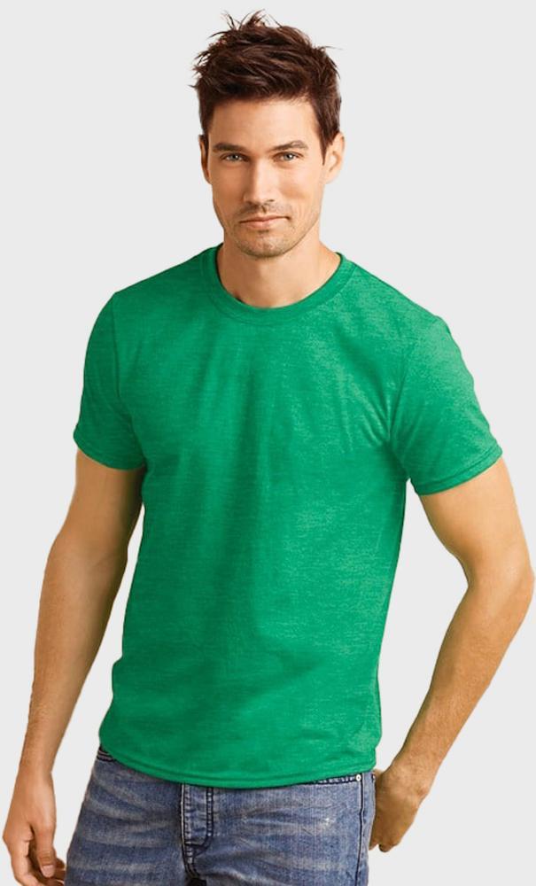 Gildan 64000 - T-Shirt Homme 100% Coton Ring-Spun