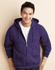 Gildan 18600 - Heavyweight Full Zip Hooded Sweat