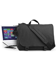 Bag Base BG218 - Two-Tone Digital Messenger