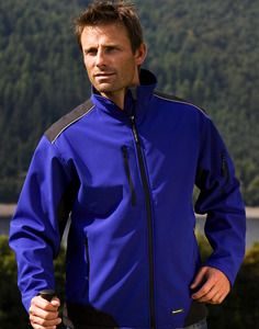 Result Work-Guard R124 - Chaqueta Work de Soft Shell antidesgarres