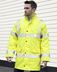 Result R218X - Core High Viz Motorway Coat