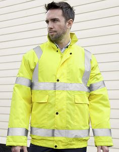 Result Safe-Guard R217X - Core High Viz Winter Blouson