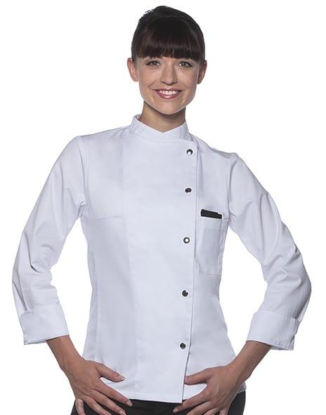 Karlowsky JF 3 - Ladies' Chef Jacket Larissa