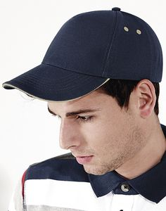 Beechfield B15c - Ultimate 5 Panel Cap - Sandwich Peak