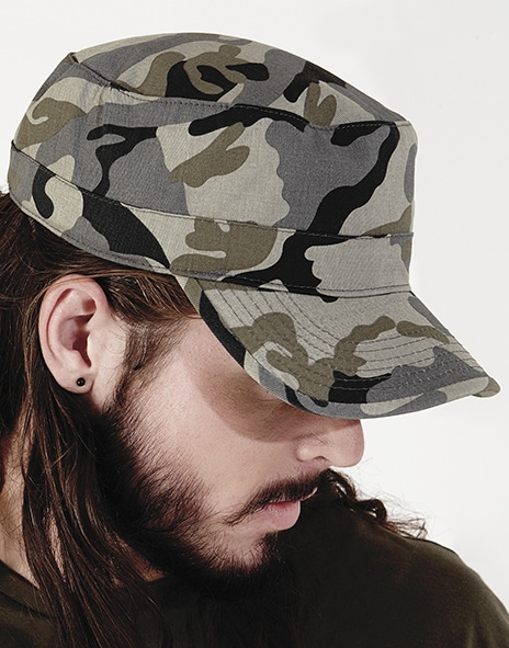 Beechfield B33 - Camouflage Army Cap