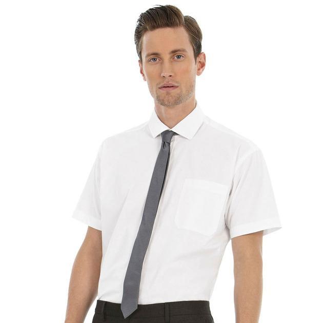 B&C Heritage SSL Men - Men`s Heritage Poplin Shirt - SMP42