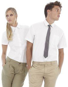B&C SMT82 - Mens Sharp Twill Short Sleeve Shirt