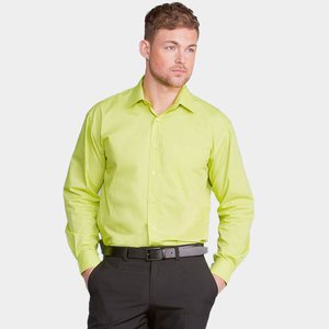 Russell Collection J934M - Long sleeve polycotton easycare poplin shirt