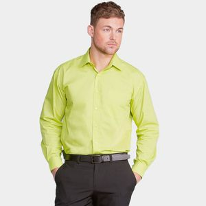Russell Collection J934M - Long sleeve poly cotton easy care poplin shirt
