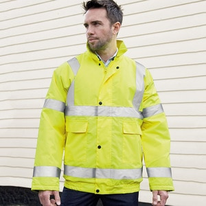Result Core R217X - Core high viz winter blouson EN471 Class 3